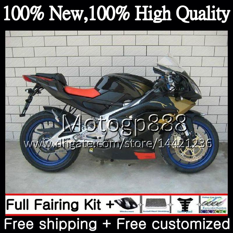 Injection For Aprilia Golden Black RS4 RS125 12 13 14 15