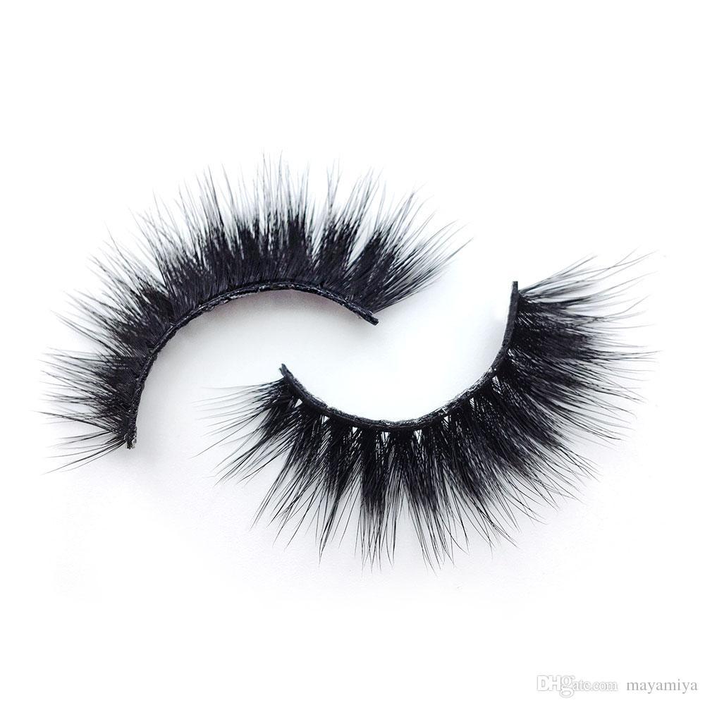 K16 6 style k series 1pair Handmade False Eyelash 3D real mink eyelashes False eyelash