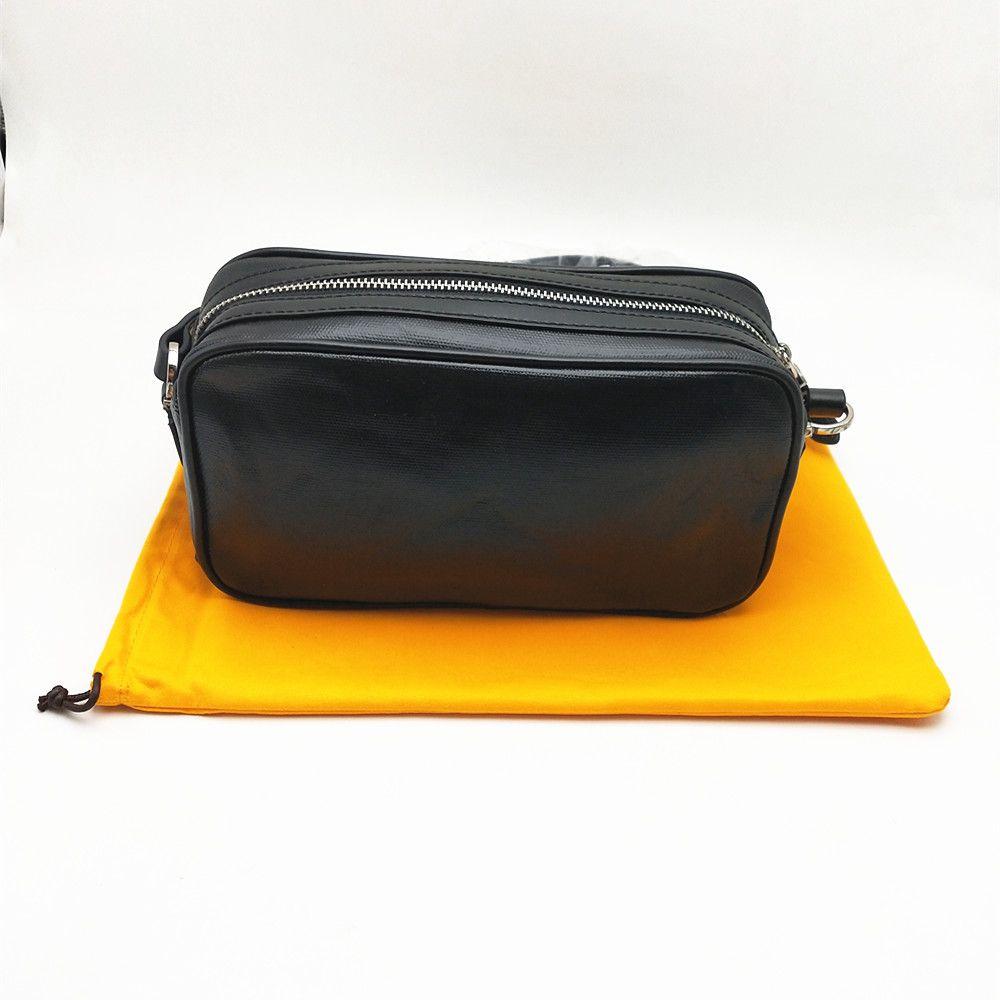Alta Qualidade Mulheres Homens Flap Shoulder Bag Moda Messenger sacos Cruz clássico Camera Bag Corpo com saco de poeira