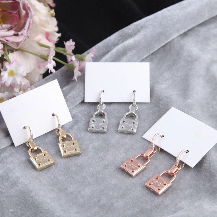 뉴욕 귀걸이 패션 자물쇠 귀걸이 귀여운 자물쇠 합금 귀걸이 저렴한 유명한 패션 쥬얼리