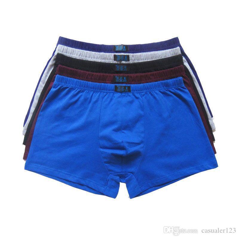6Pcs/Lot Mens Underwear Boxers Shorts 100% Cotton Underwear Soft Plaid Boxer Male Panties Comfortable Breathable boxers mens