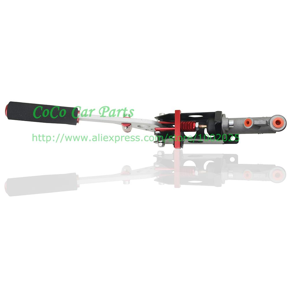 Mano roja hidráulico de aleación de aluminio universal del freno de mano hidráulico deriva del freno del coche para las carreras