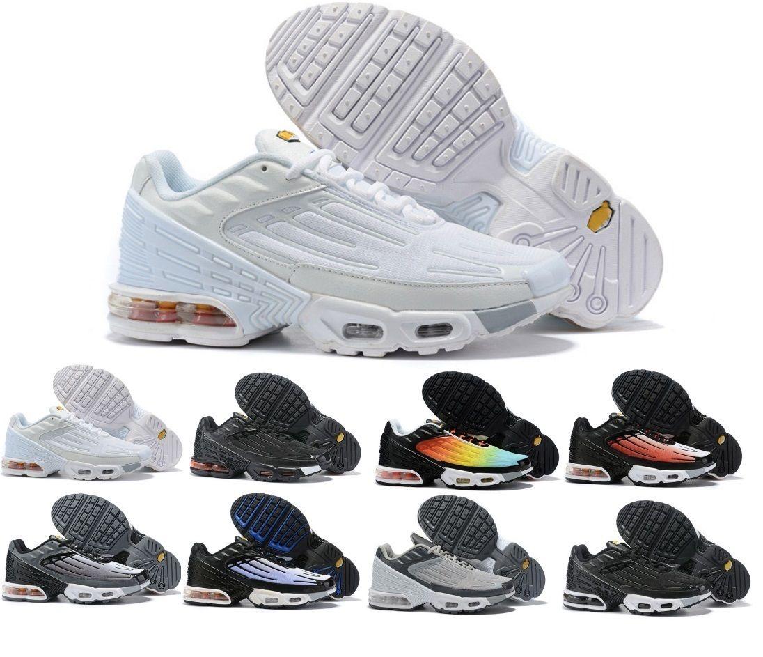 Sıcak TN TUNED HAVA Mens Tasarımcı Rahat Ayakkabılar 2020 Kadın Hava Yastığı Siyah Beyaz Elbise Eğitmenler Açık Yürüyüş Zapatos Spor Sneakers 36-45