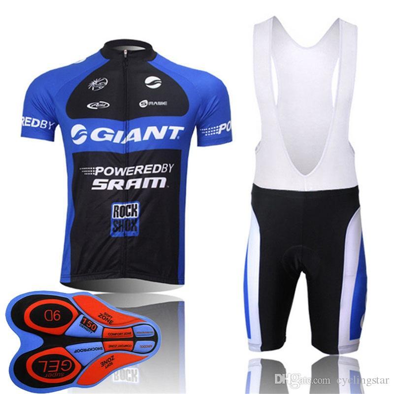 GIANT Team велоспорт Джерси костюм мужской летний Quick Dry Pro велосипед с коротким рукавом рубашка нагрудник шорты комплект велосипедных нарядов спортивная форма Y082102