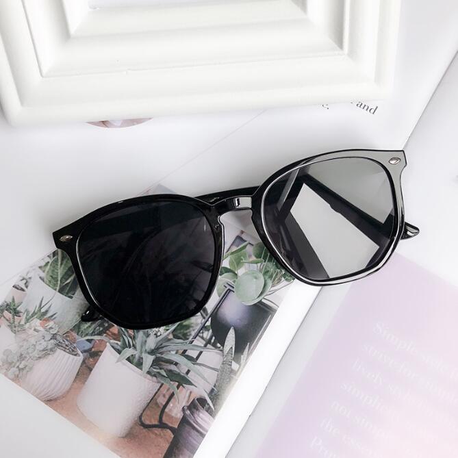 Hexágono clássico óculos de sol irregular forma designer sol óculos homens mulheres óculos uv400 tons 4306 com casos