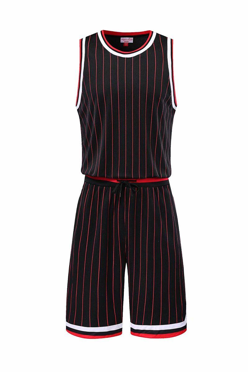 Custom Shop de basket-ball Maillots de basket-ball vêtements personnalisés Ensembles avec des vêtements uniformes Shorts Design Sports Basketball Hommes A48-02