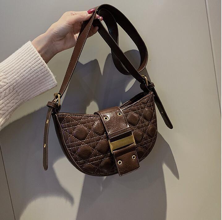saco de moda couro macio fábrica mulheres por atacado bolsa rua tendência Lingge Mensageiro saco simples Joker bolsa de couro