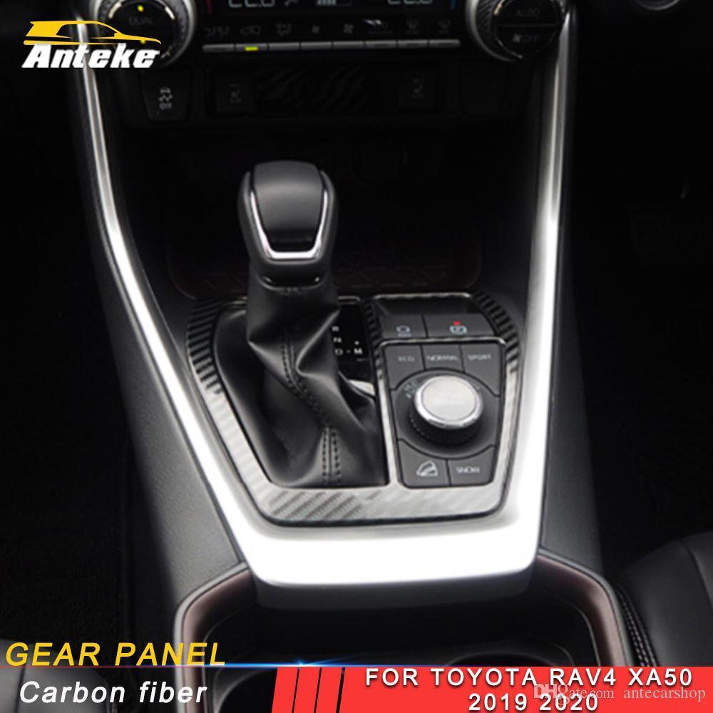 Toyota Rav4 Rav 4 XA50 2019 2020 Araç Vites Paneli Kapak Dekor Trim Çerçeve Sticker Krom İç Aksesuar