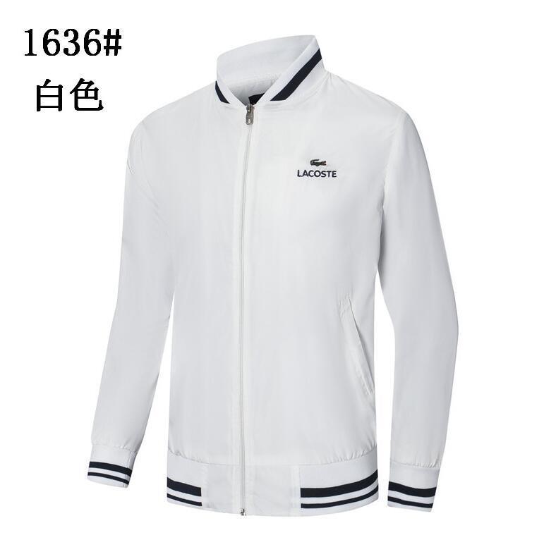 Erkekler iş ceket moda ceket erkek spor uyum marka erkek düz renk uzun kollu ceket M-2XL