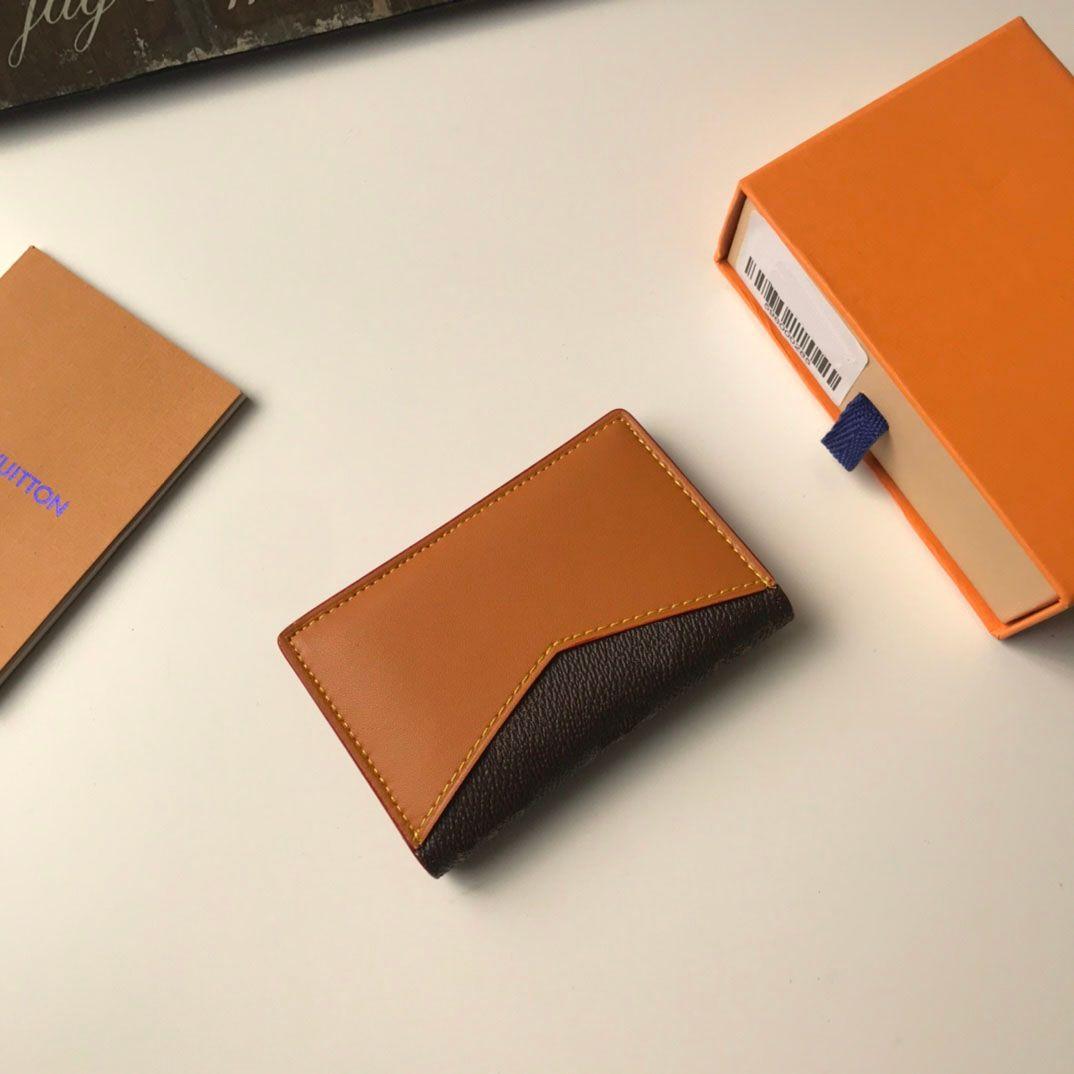 Qualität Halter Stil Karten Passport Tasche 2021 Neue Halter Geldbörse Passcard Leder Ankunft Karte Geldbörse High Gelb Echt Pocket Classic Svktn