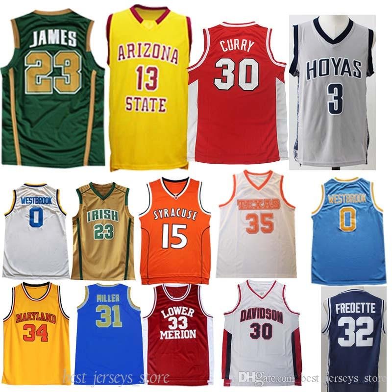 NCAA Duke Blue Devils 1 Williamson 13 Harden Jersey de la universidad James hombres camisetas Curry baseketball jerseys