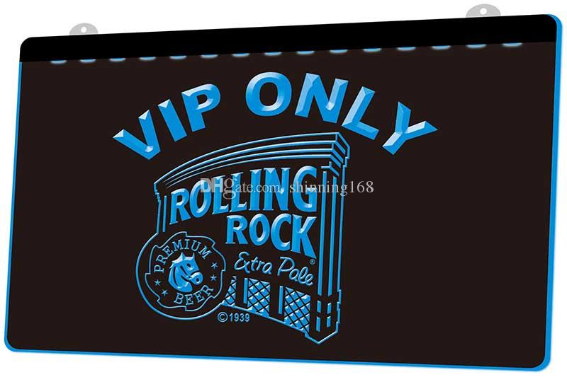 LS1232-b-Rolling-Rock-VIP-Only-Beer-Neon-Light-Sign.jpg Decor Free Shipping Dropshipping Wholesale 8 colors to choose