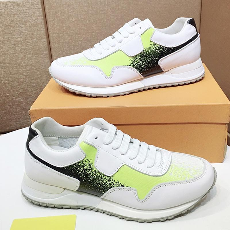 Alta Qualidade Run Away Sapatos Masculinos sapatilha Drop Ship Lightweight Luxo Footwears Low Vintage Top Lace-up Homens Sapatos Chaussures pour hommes