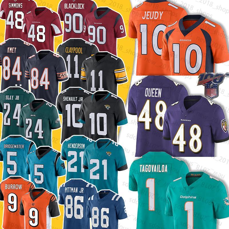 Denver 10 Jerry Jeudy Broncos 48 Patrick Queen Raven 1 Tua Tagovailoa 5 Teddy Bridgewater 24 Darius Slay Jr Henderson LAVISKA SHENAULT