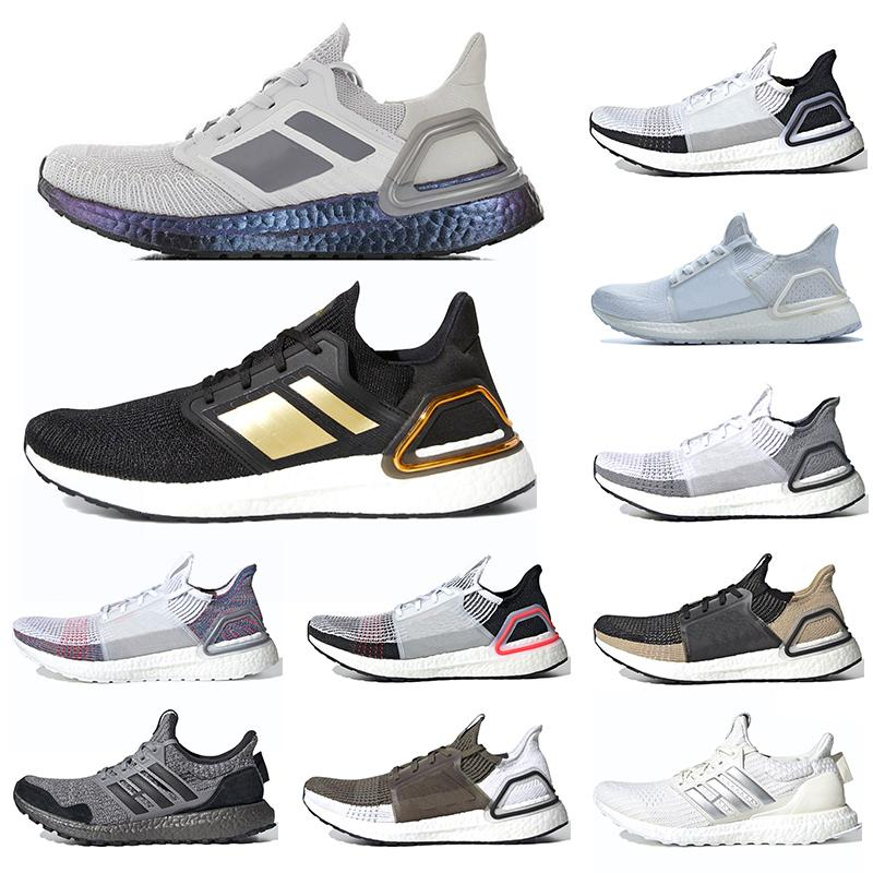 Ultra Boost 5.0 6.0 Men Running Shoes Ultraboost 19 Triple White Laser Red Mens Sports Sneakers Size 36-45 Free Shipping
