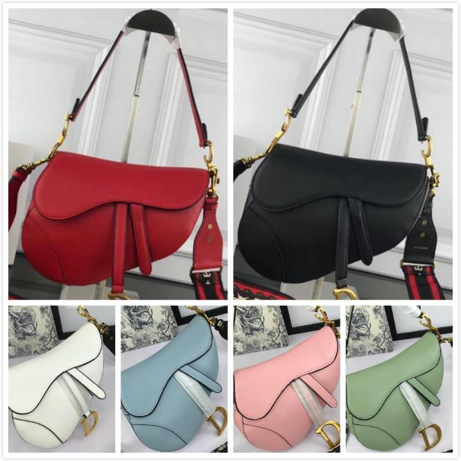 2020 autêntica bolsas mulheres qualidade de designer de luxo bolsas-de-rosa azul branco preto de couro genuíno crossbody ombro senhoras bolsa marca sacos