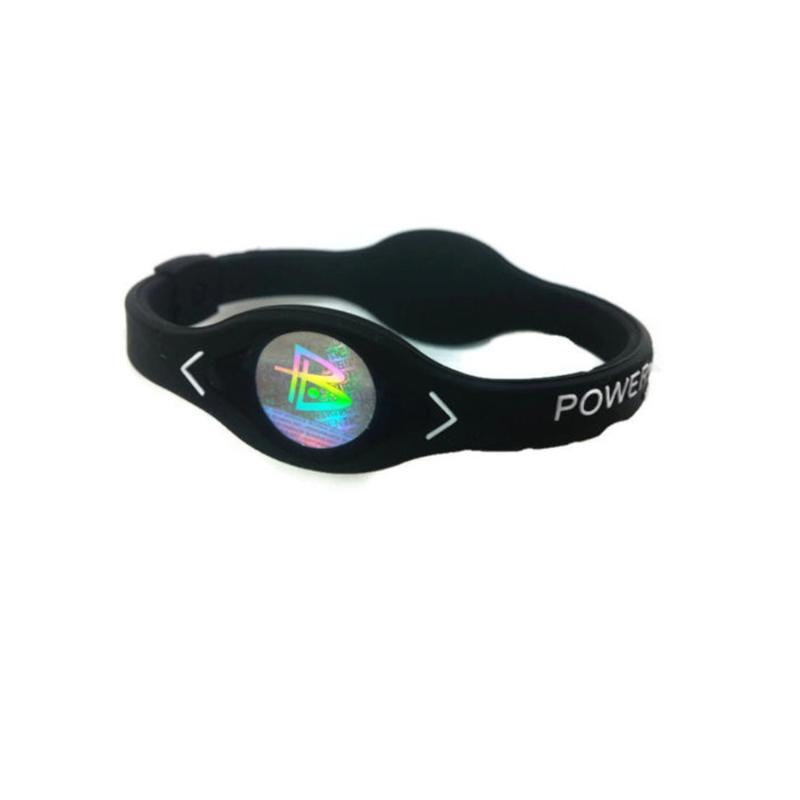 1PC Energy Charm Designer Power Energy Bracelet Bangles For Women Men Sport Wristbands Ion Magnetic Therapy Silicone