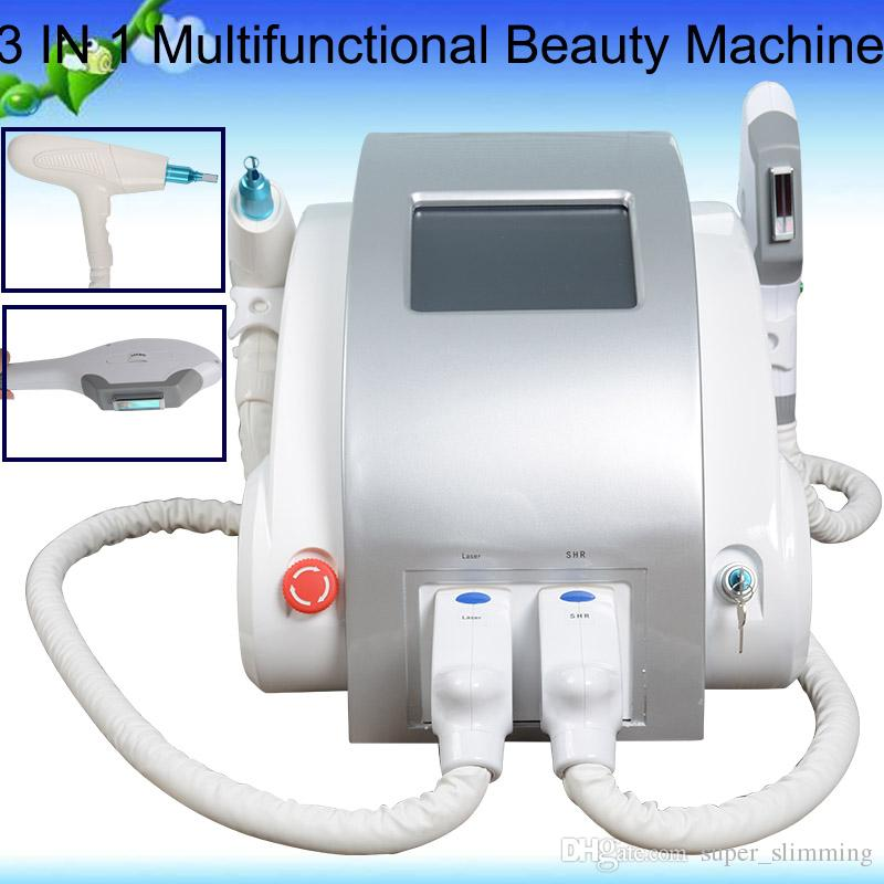 Yag Laser System Shr Laser Machine Hair Removal Machines For Sale 2 Years Warranty For Tattoo Removal Skin Lifting