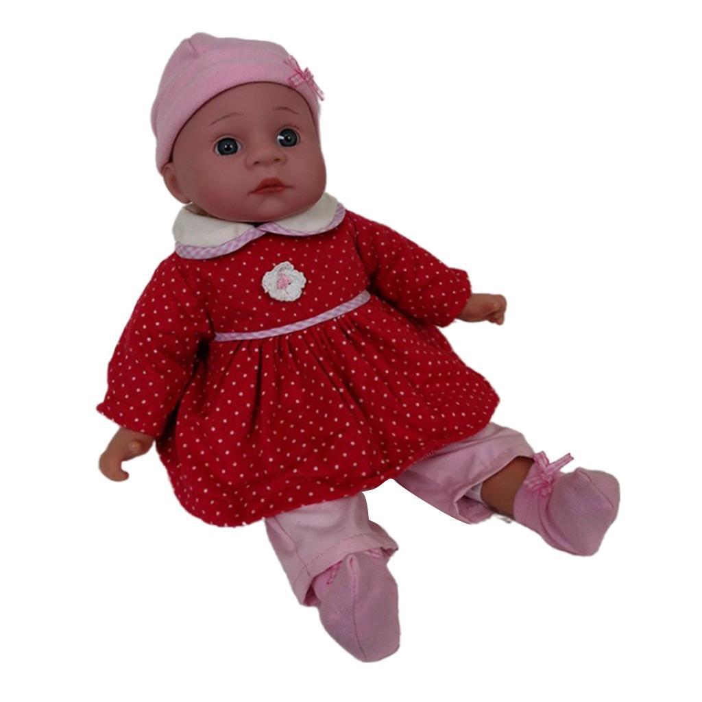 Simulación linda del compañero dormir del bebé encantador suave de los sueños dulces de la muñeca