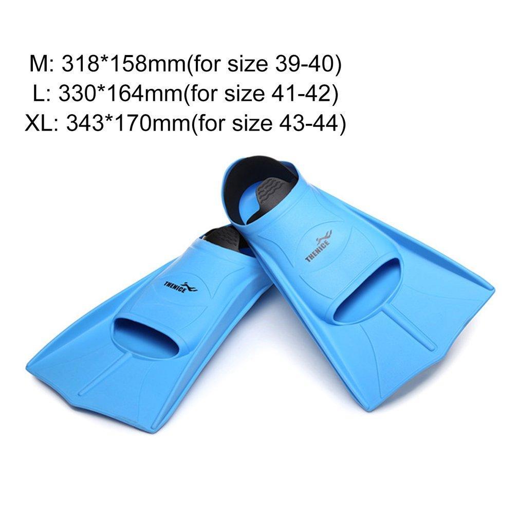 Yüzme Fins Kısa Flipper Dalış Flippers Silikon Rahat Hafif Swim Fins Ayakkabı Dalış Ekipmanları Unisex Sıcak