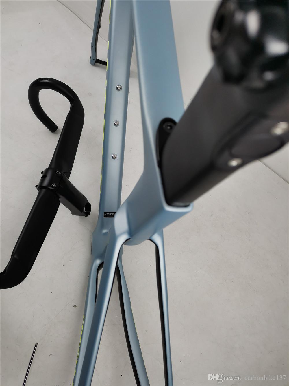 100 142 * 12 * 12mm 통해 차축 바퀴 디스크 브레이크 자전거 프레임 2020 초고속 탄소 도로 자전거 프레임 공력 700C