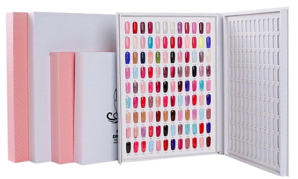 Livret ongles Afficher la carte Nuancier Vernis à ongles Nuancier Conseil Carte Nail Boutique Affichage Conseil 80 120 180 Couleur