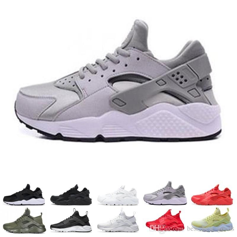 Huarache 1.0 4.0 Running Shoes Men Women Top Quality Stripe Balck White Oreo Sport Shoes Designer Sneakers Trainers size 36-45