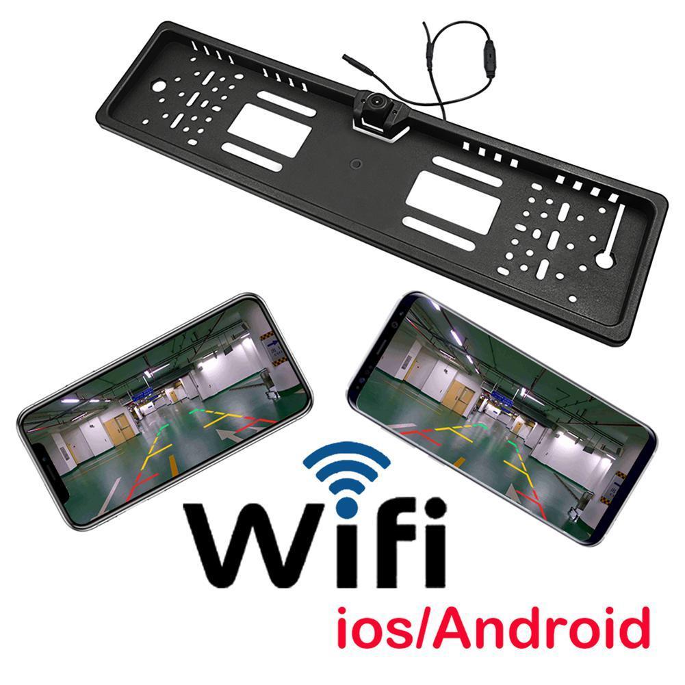 Dragonpad Car DVR Wireless Wifi Backup Parking Reverse Rear View Camera Car Accessories