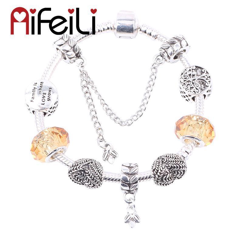 AIFEILI elegante e requintado alta qualidade do presente preferido DIY adequado para mulheres Bracelet Jewelry Glamour tendência europeia
