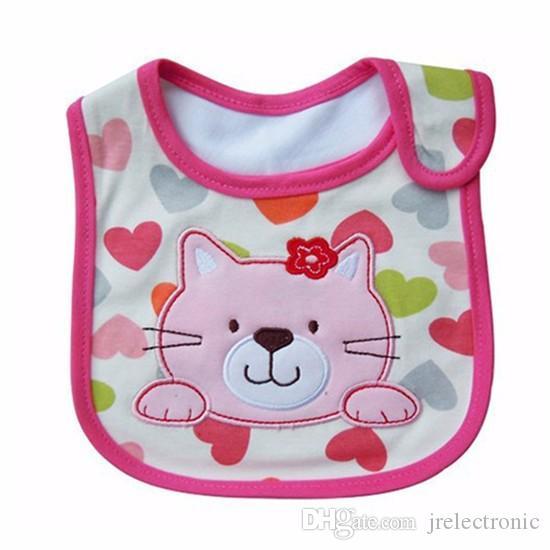 الطفل المرايل لطيف الكرتون نمط طفل رضيع للماء اللعاب منشفة القطن صالح 0-3 سنة الرضع تجشؤ الملابس التغذية