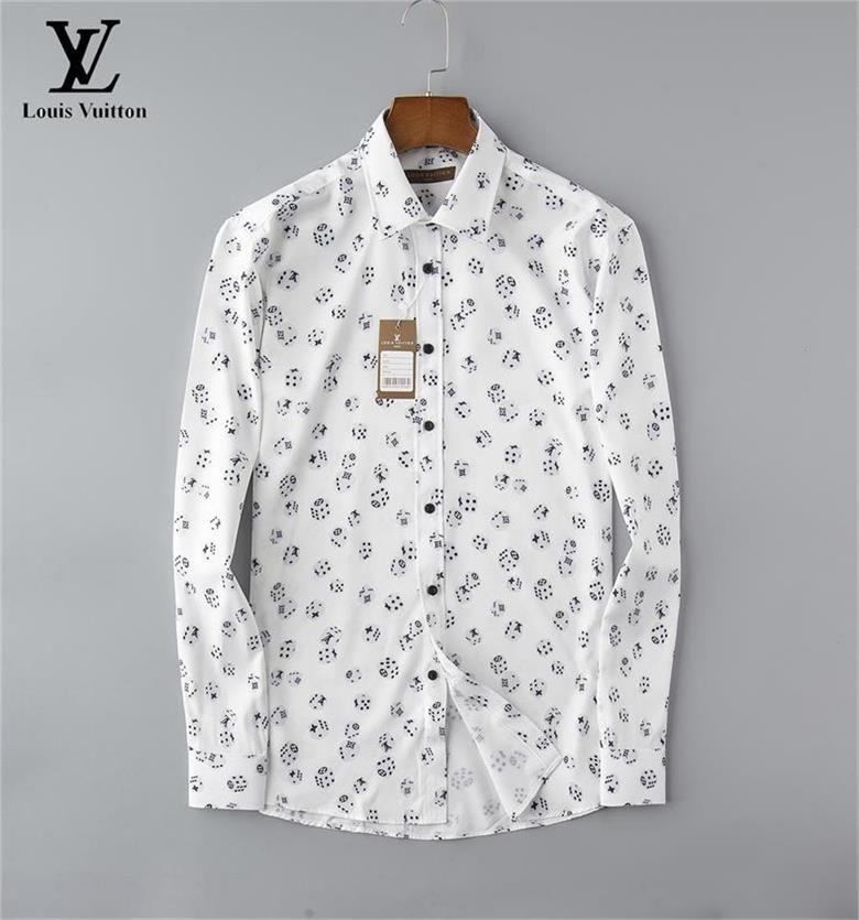 NIGRITY 20 Spring Men's Fashion Classic Comfortable Casual Long Sleeve Business Shirt Man Formal Shirt Plus Size S-Size M-3XL19