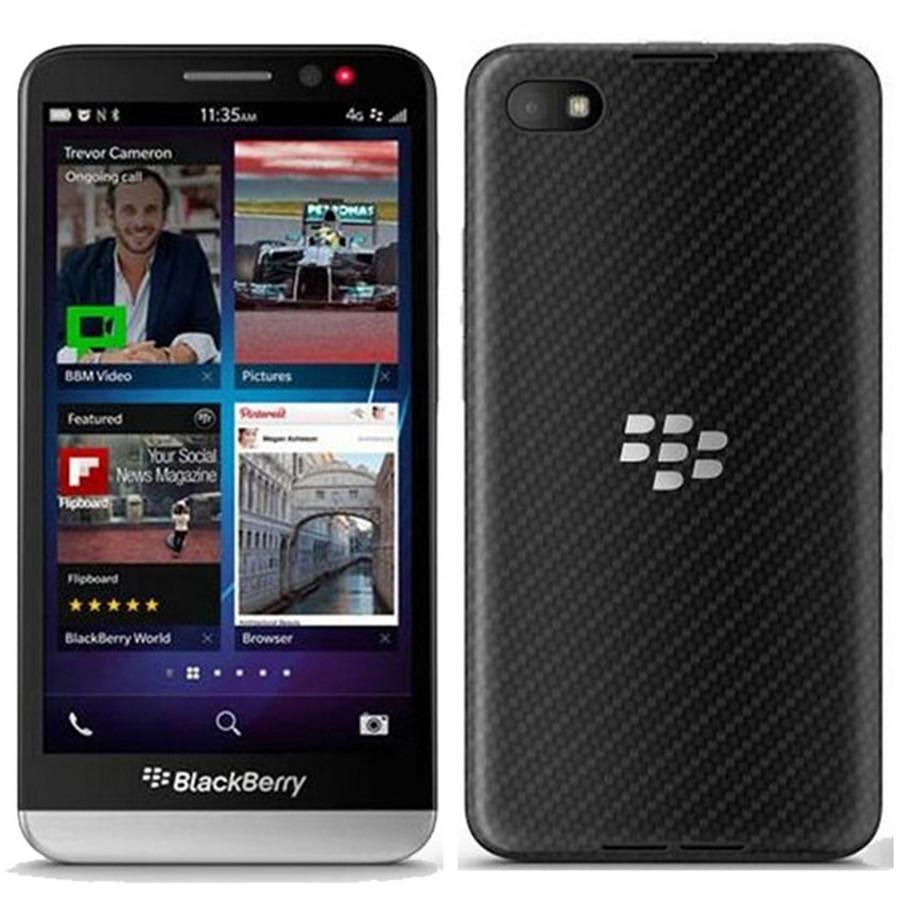 Refurbished Original Blackberry Z30 5.0 inch Dual Core 1.7GHz 2GB RAM 16GB ROM 8MP Camera Unlocked 4G LTE Smart Mobile Phone DHL 1pcs