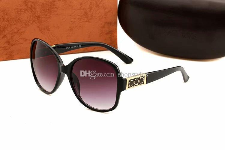 Mode Radfahren Sonnenbrille Weiseluxuxfrauen Designer-Runde Maxi-Sunglass Riding Wind Spiegel Top-Qualität UV-Schutz Fahren Gläser