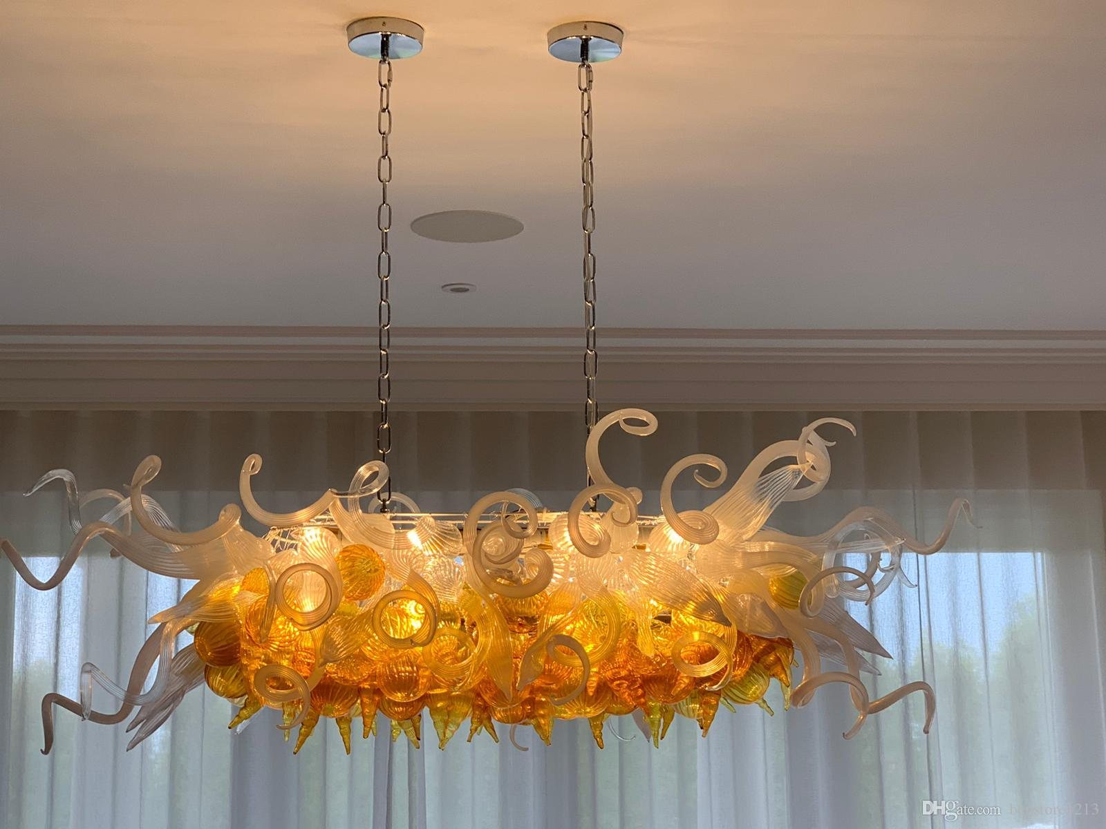 Chandeliers Official Website Luxury Chandelier Lighting Customized Style Bar Light Office Mouth Blown Glass Modern Led Chandeliers Lamp And To Have A Long Life. Lights & Lighting