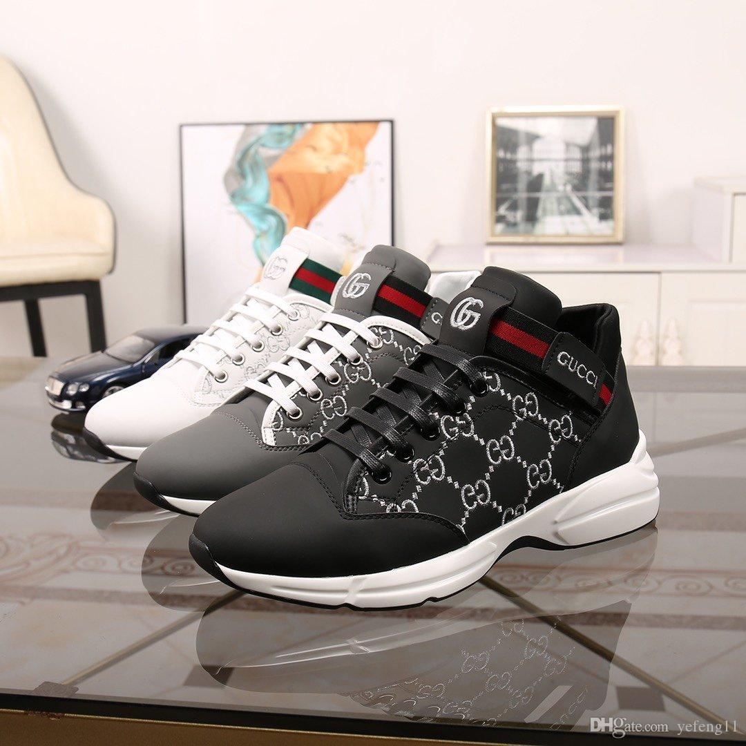 Ücretsiz Kargo Lüks Basketbol Tasarımcı Ayakkabı Sneakers Moda Parti Günlük Ayakkabılar Platformu Erkek ayakkabı DHL Ücretsiz Kargo Boyut US6-US11