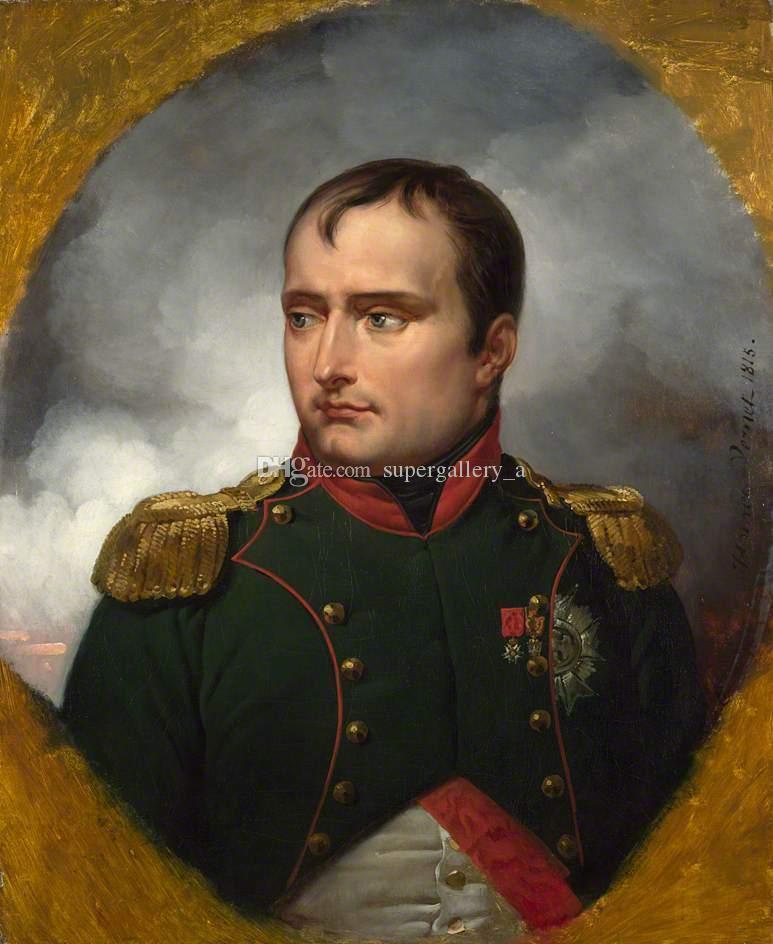 Horace Vernet İmparator Napolyon I Ev Duvar Sanatı Dekor Handpainted Dijital Baskı Yağlıboya Tuval Duvar Sanatı Tuval Resimleri 190827