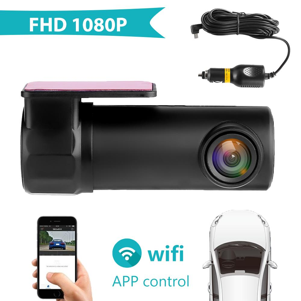 Latest 1080P WIFI Car Hiden DVR HD 1080P 170° Camera Video Dash Cam Recorder 4G
