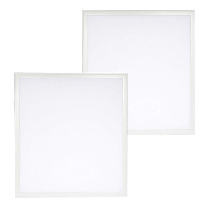 Lampada da ufficio Friendly Eyes 2ft LED Pannello a LED Troffer 2x2 Ft Pannello Edge-Lit, 36W Bianco freddo 6000k