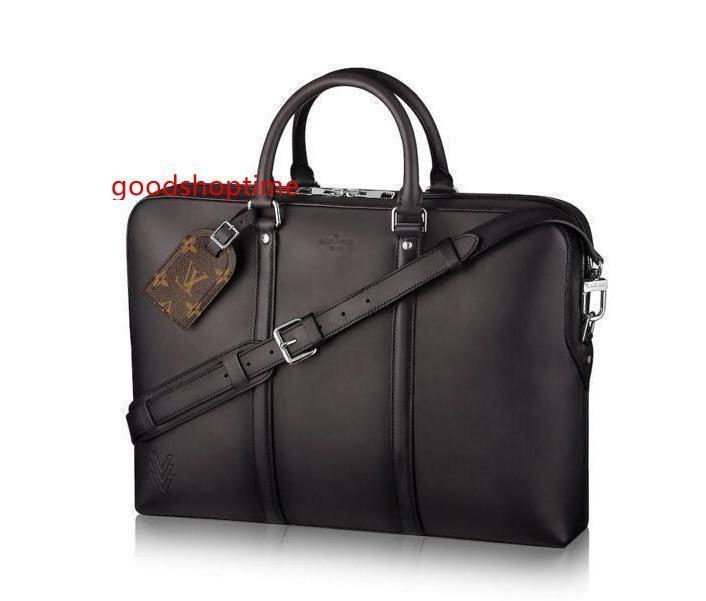 Коммуникатор Voyage мужчин M50449 сумки плеча ремень сумка Totes Портфель Портфели Duffle багажа