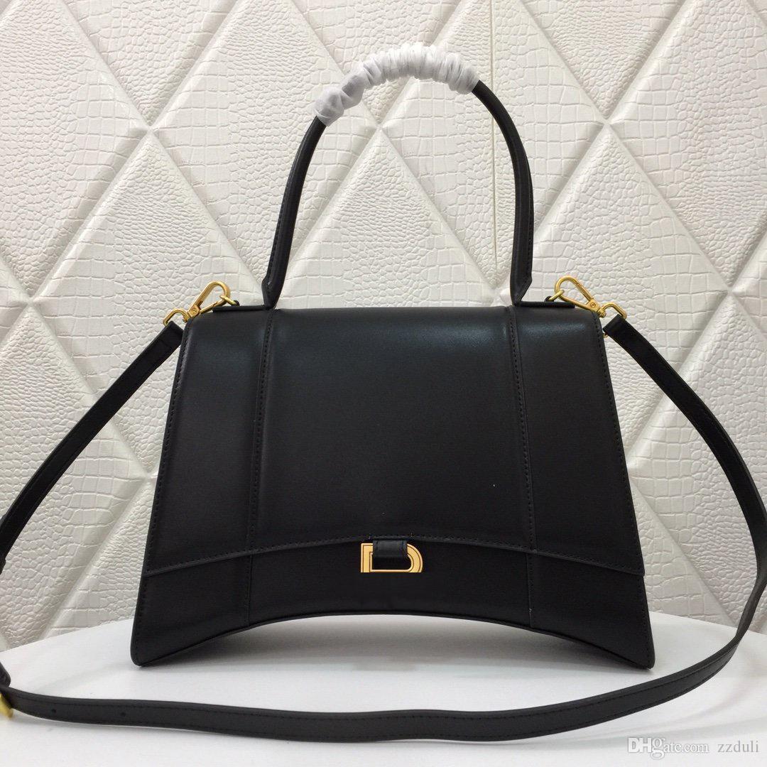 Borse donna Borse di lusso a clessidra messenger bag di marca vera cinghia di cuoio genuina famosa borsa del progettista spalla Flap di moda