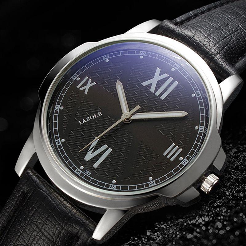 2019 heiße neue Top-Marken-Art- Blue Glass Luminous Armbanduhr-Mann-Uhr-Männer wasserdichte Uhren Relogio Masculin