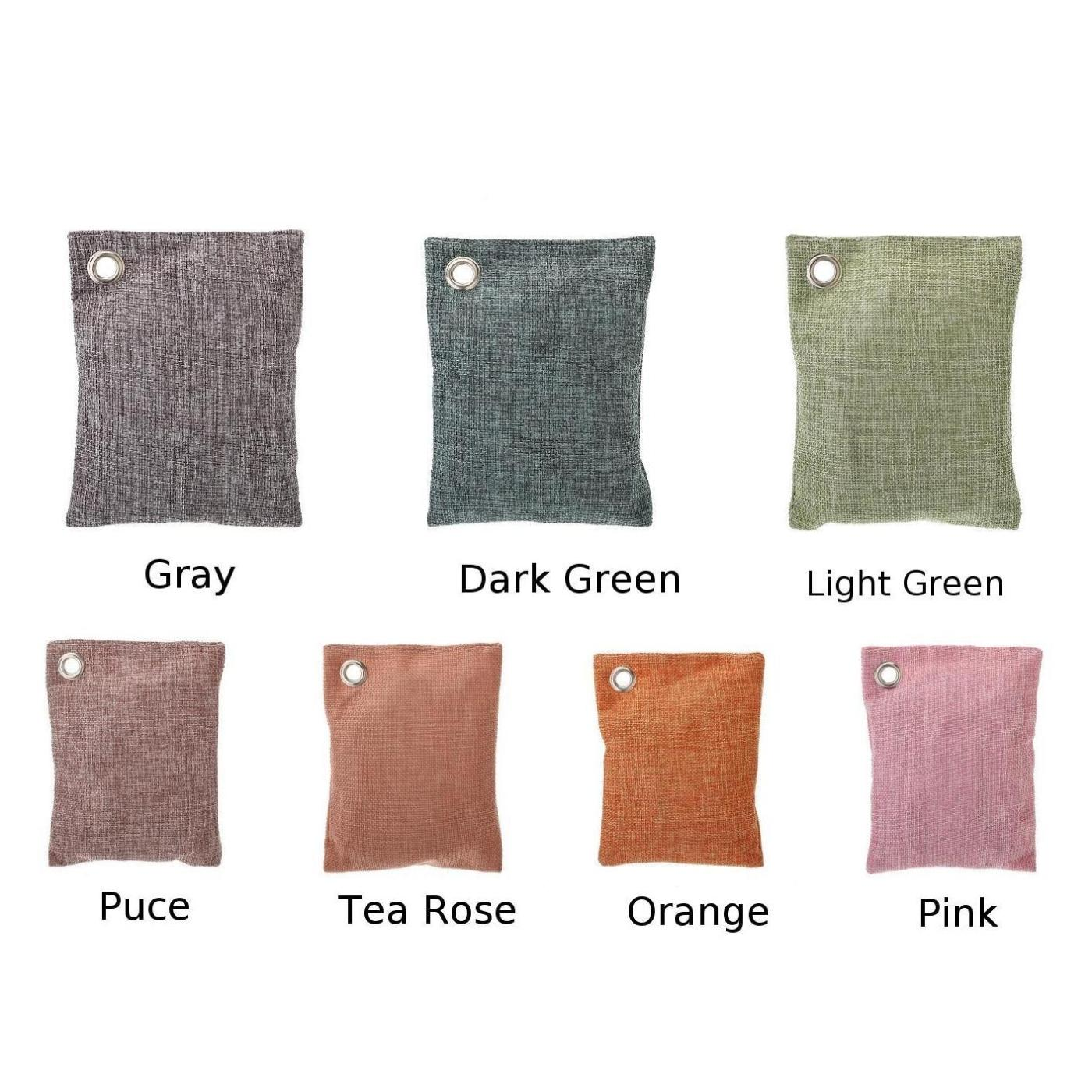100g Air Purify Bag Fresh Activated Carbon Bamboo Charcoal Carbon Bags Mold Odour Remove For Home Car Office