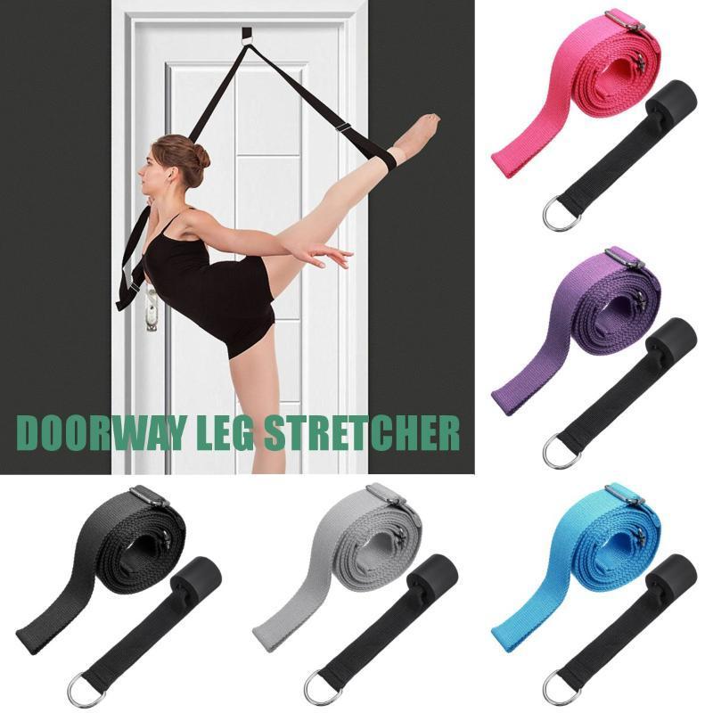 Entrada Leg Maca interior Fitting Fitness Equipment Anel Yoga Belt Banda Ballet elogio Ginástica Dança Formação Belt Início