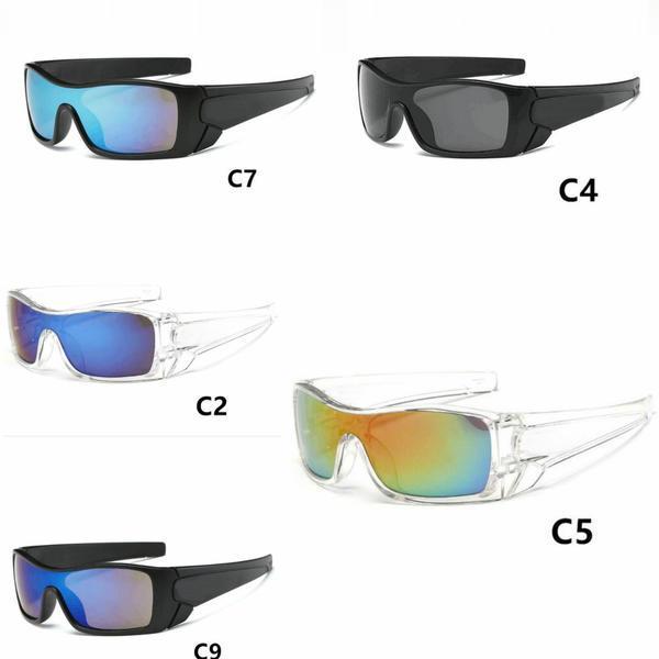 Freier Verschiffen-Sommer-Mann-Sonnenbrille Frauen Radfahren Sonnenbrillen Radfahren Sport im Freien Strandmode Sonnenbrillen Brillen 10pcs / lot.