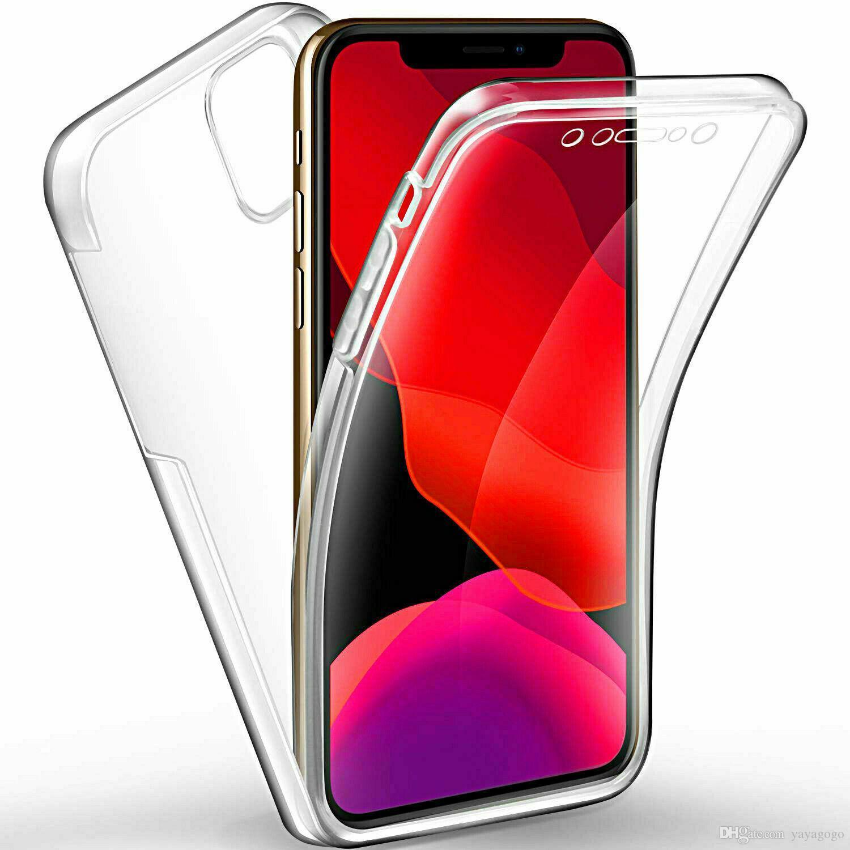 Hotsell para el iPhone 11 Pro Max 2019 de caja del teléfono de cuerpo completo ultra delgado claro TPU cubierta de gel CASO PARA IPHONE TODO