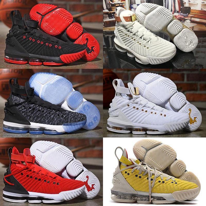Top quality LeBron XVI 16 Harlems Fashion Row Training Shoes Fashion Kids Mens Trainers 16s HFR Sports Sneakers
