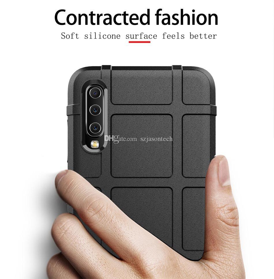 Per la copertura di Samsung A70 S9 Inoltre J4 J6 più Primo M10 20 30 Custodia in silicone antiscivolo Phone