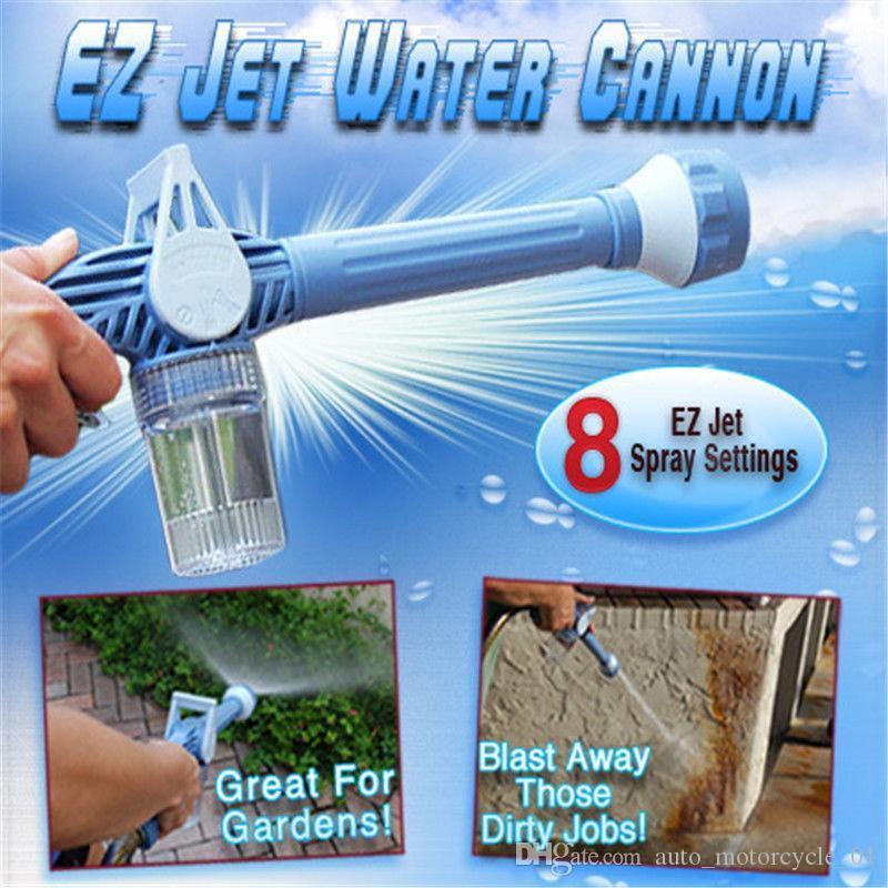 8 em 1 Jet Canhão de Água Multi-funcional Canhão de Água pistola Jardim Rega Equipamentos de viaturas Ferramentas de lavagem FFA1088