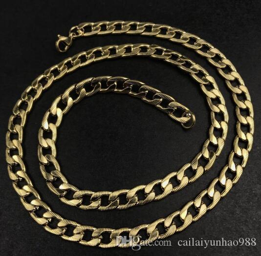 18K Altın 8mm altın kabartmalı hassas kolye