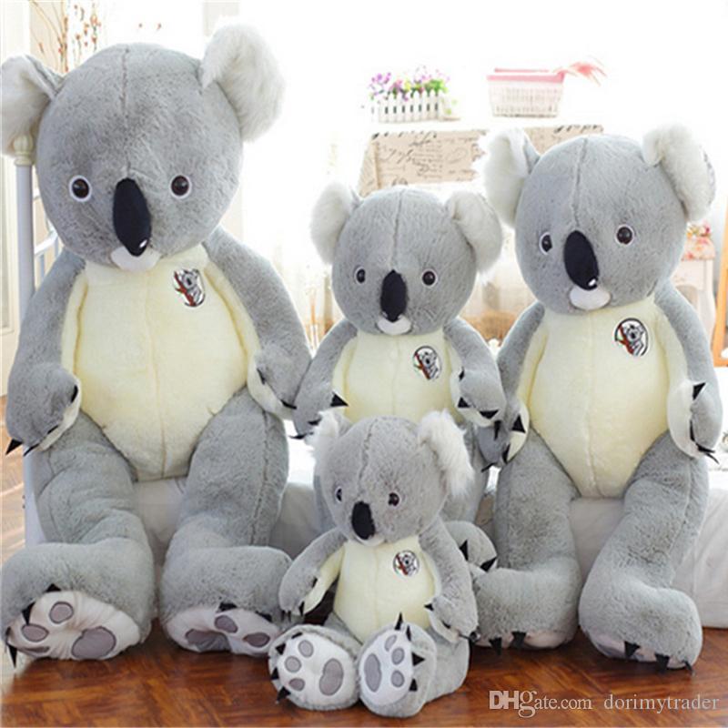 Juguetes creativos Koala mu/ñecos de Peluche de la Felpa Animal Ragdoll Juguetes for ni/ños sue/ño Almohada mu/ñeca Regalo de cumplea/ños de los ni/ños Size : 30cm